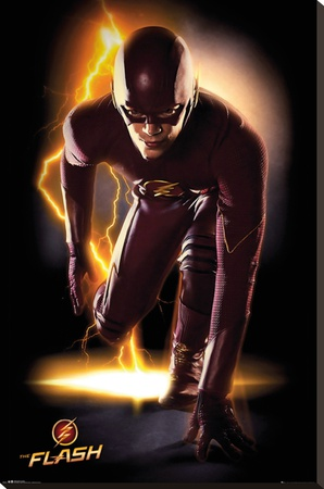 The Flash - Speed Stretched Canvas Print