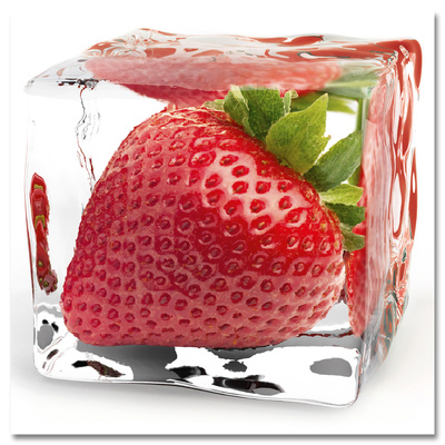 Iced Strawberry Affiches