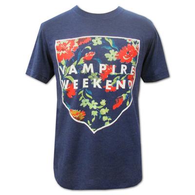 Vampire Weekend- Floral Shield T-Shirt