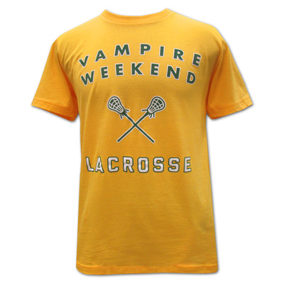 Vampire Weekend- Lacrosse T-Shirt