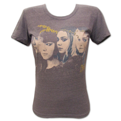 Juniors: First Aid Kit- Band Faces T-Shirt