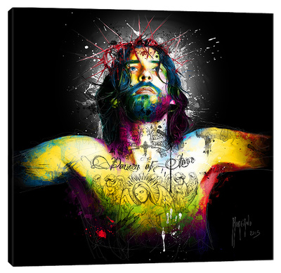 Requiem for Love Stretched Canvas Print by Patrice Murciano
