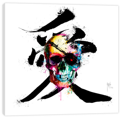 Pirate Stretched Canvas Print by Patrice Murciano