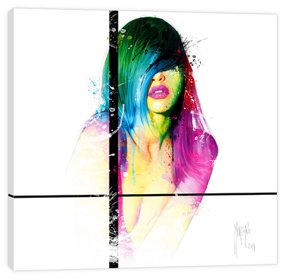 Fashion Laura Stretched Canvas Print by Patrice Murciano