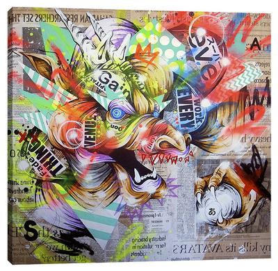 Seiryu Stretched Canvas Print by Taka Sudo