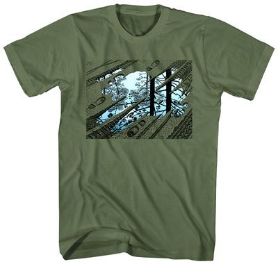 M.C. Escher- Puddle Tracks T-shirts
