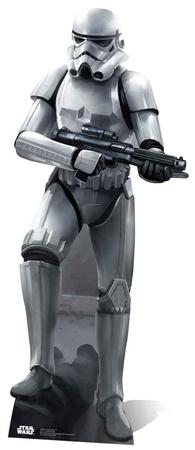 Star Wars - Stormtrooper Battle Pose Figura de cartón