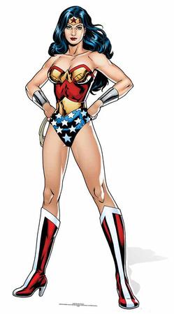 DC Comics Wonder Woman Cardboard Cutouts