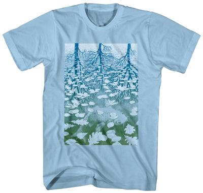 M.C. Escher- Fish Pond T-Shirt