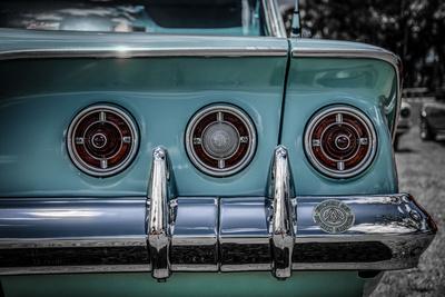 Vintage Retro American Car Photographic Print by David Challinor
