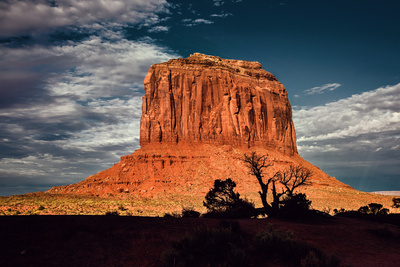 Red Rock in Monument Valley USA Photographic Print by Jody Miller