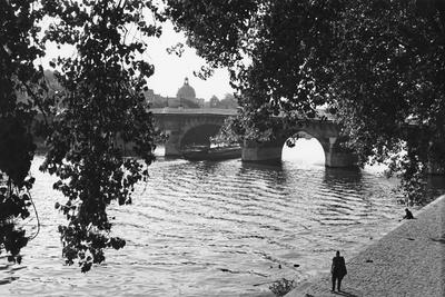 Paris, Pont Neuf Giclee Print by Jules Dortes