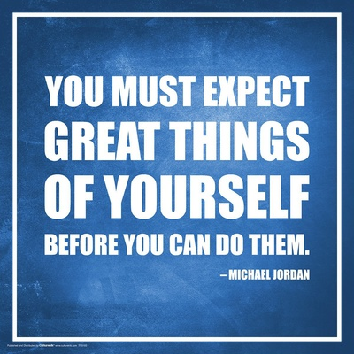 Michael Jordan motivational quote poster art for classrooms
