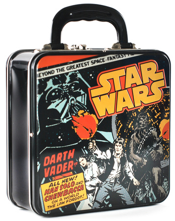 Star Wars - Comic Cover Embossed Tin Tote Lunch Box