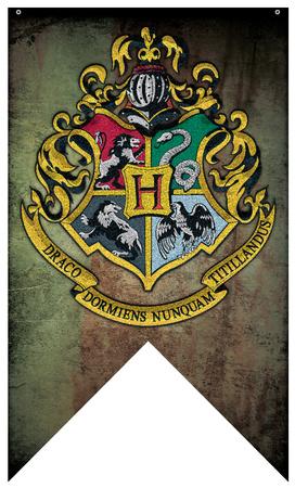 Harry Potter- Hogwarts Crest Banner Photo