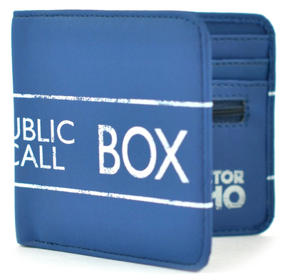 Doctor Who - TARDIS Boxed Wallet Portemonnee