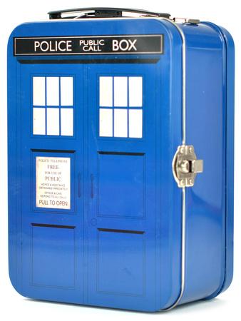 Doctor Who - TARDIS Tall Tin Tote Madkasse