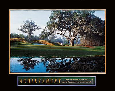 Achievement – Golf Prints by  Unknown