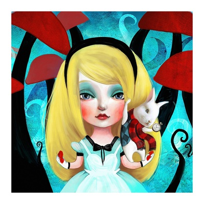 Alice Posters by  Meluseena