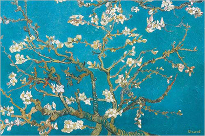 Almond Blossoms, 1890 Poster by Vincent van Gogh