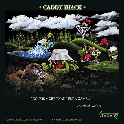 Caddy Shack Posters by Michael Godard