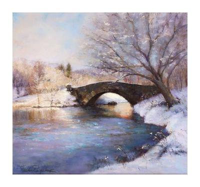 Central Park Bridge Prints by Esther Engelman
