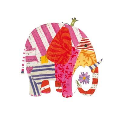 Big Elephant, Little Mouse Posters by Sarah Battle