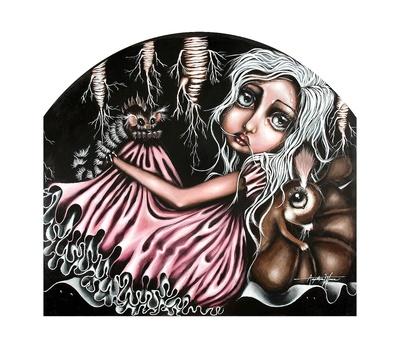 DiDi's Hideout Print by Angelina Wrona