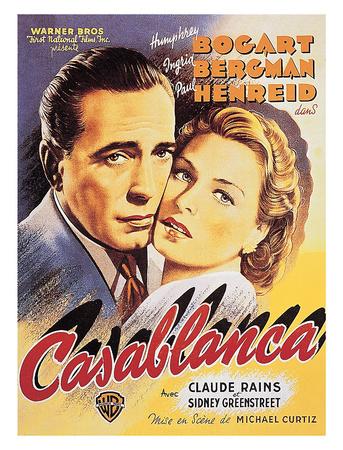 Casablanca Affischer av Unknown,