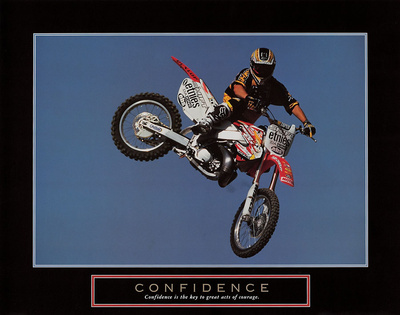 Confidence – Motorbiker Prints by  Unknown