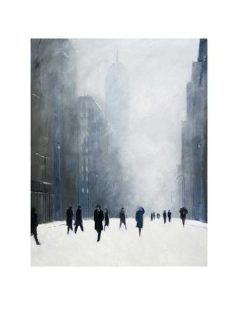 Blizzard - 5th Avenue Plakater af Jon Barker