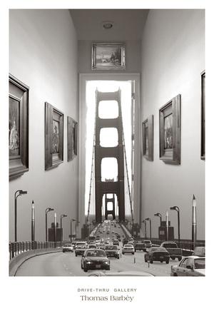 Drive-Thru Gallery Print by Thomas Barbèy