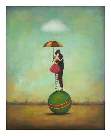 Circus Romance Konst av Duy Huynh