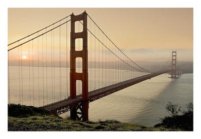 Golden Gate Sunrise 2 Prints by Alan Blaustein
