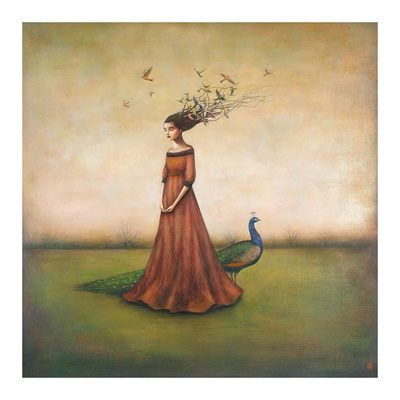 Empty Nest Invocation Print by Duy Huynh