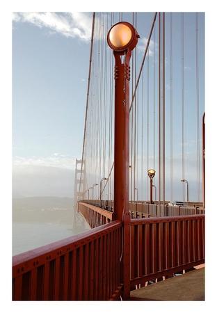 Golden Gate Bridge 44 Poster by Alan Blaustein