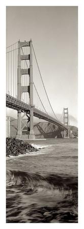 Golden Gate Bridge Pano 2 Prints by Alan Blaustein