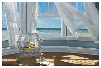 Gentle Reader Art by Karen Hollingsworth