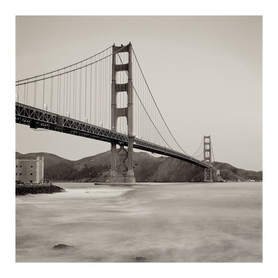 Golden Gate Bridge 34 Prints by Alan Blaustein