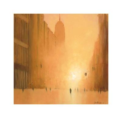 Morning Light - 5th Avenue Plakater af Jon Barker