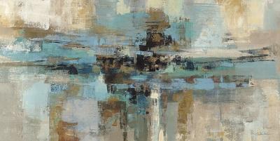 Morning Fjord Art by Silvia Vassileva