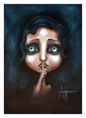 Hush Prints by Angelina Wrona