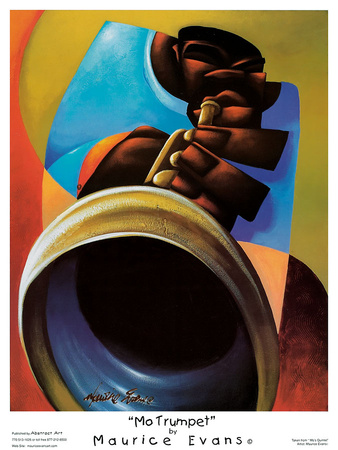 Mo Trumpet Prints by Maurice Evans