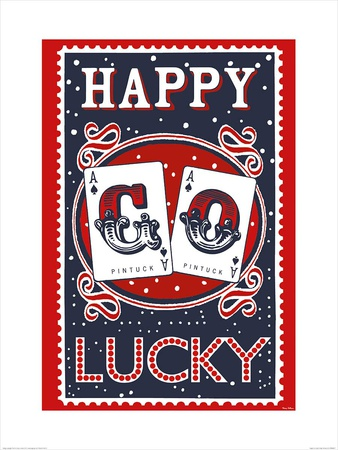 Happy Go Lucky Poster by Mary Fellows
