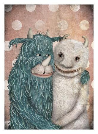 Monster Love Art by  Majali