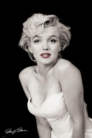 Marilyn Monroe-Red Lips Kunst van Unknown,