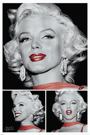 Marilyn - Red Lips Trio Posters by  Unknown