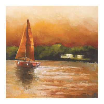 Majorcan Sail I Art by Adam Rodgers