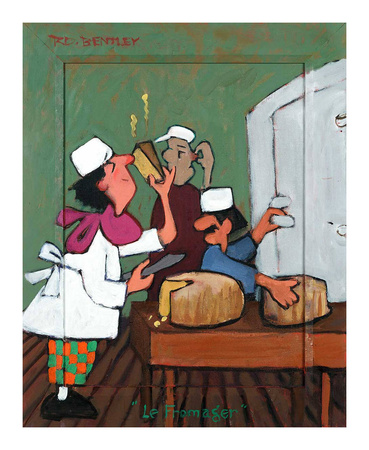 Le Fromager Prints by Robert Dewar Bentley