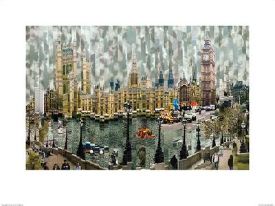 Londres II Prints by Serge Mendjisky